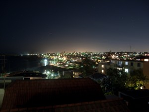 Bondi Beachouse Night Terrace View