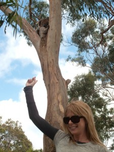 Nae and a Koala